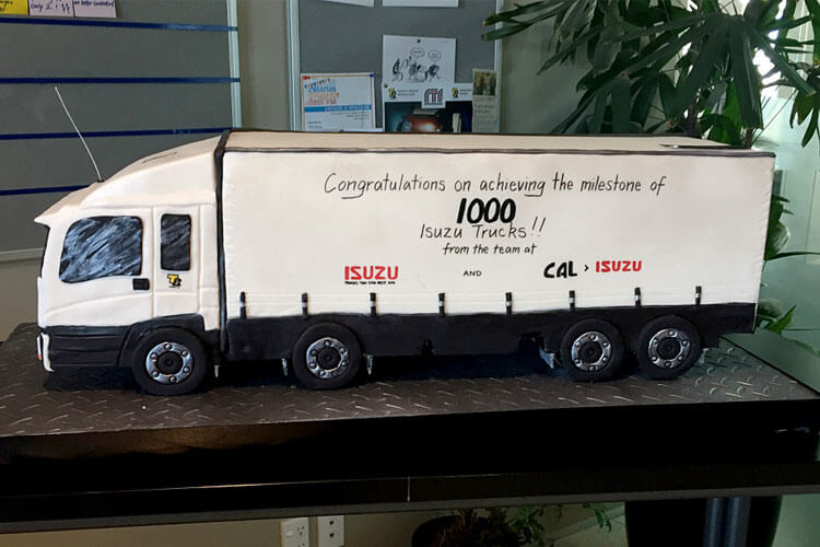 1000 Isuzu Trucks Sold