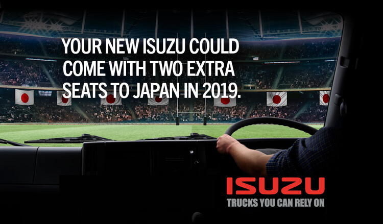 Your New Isuzu Could Come with Two Extra Seats to Japan in 2019